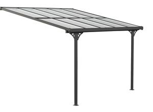 Westmann Aluminium Terrassendach Bruce schwarz 313x300 cm