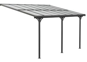 Westmann Aluminium Terrassendach Bruce schwarz 435x300 cm
