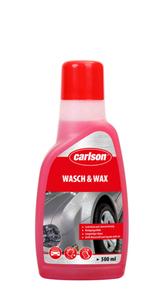 Carlson Autoshampoo mit Wachs - Kunststoff-Flasche 500 ml