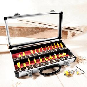 Kraft Werkzeuge Fräseinsatz-Set 25 tlg.