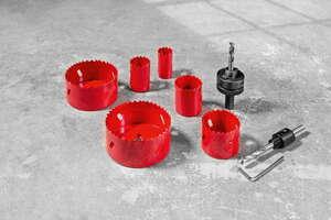 Kraft Werkzeuge Bi-Metall Lochsägen-Set 10tlg.