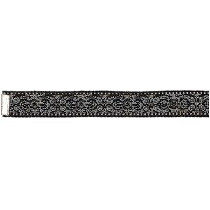 Rico Design Webband schwarz-weiß M/L 10x180 mm