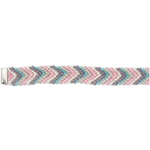Rico Design Freundschaftsband rosa-grau-hellblau XS/S 10x160 mm