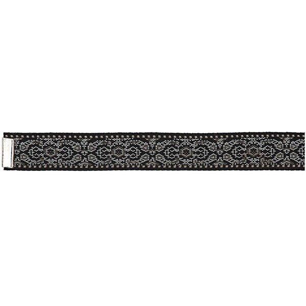 Rico Design Webband schwarz-weiß XS/S 10x160 mm