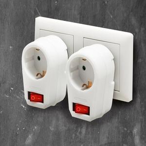 Powertec Electric Abschaltbarer Zwischenstecker - 2er-Set