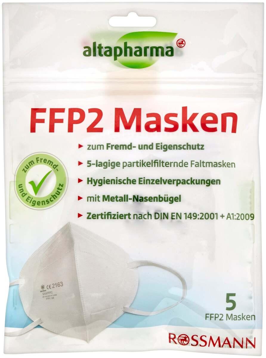 Bild 1 von altapharma FFP 2 Masken