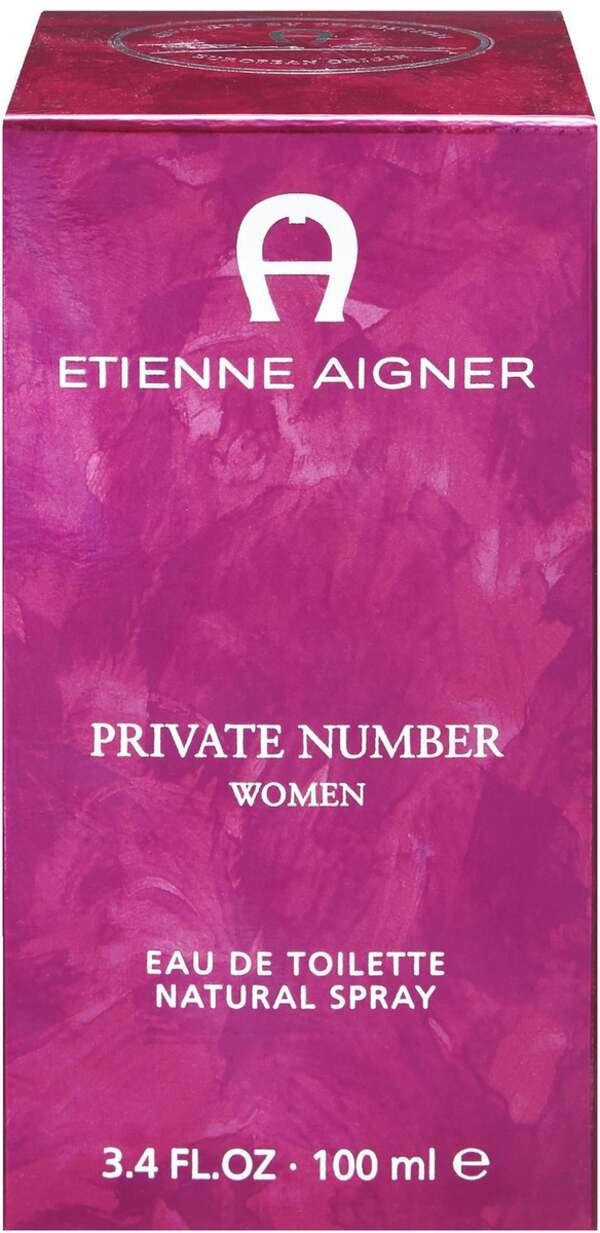 Etienne Aigner Private Number Women Eau de Toilette Natural Spray
