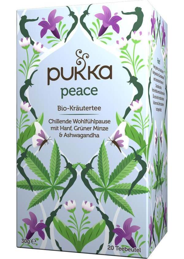 Pukka Bio-Kräutertee peace