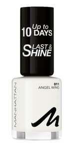 Manhattan Last & Shine Nail Polish 011 Angel Wing
