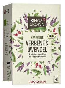 King's Crown Bio Kräutertee Verbene & Lavendel