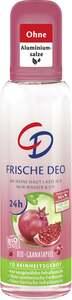 CD Frisches Deo Zerstäuber Bio-Granatapfel