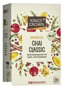 King's Crown Bio Gewürztee Chai Classic