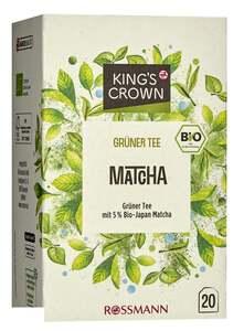 King's Crown Bio Grüner Tee Matcha