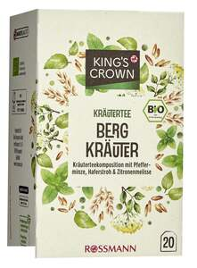 King's Crown Bio Kräutertee Bergkräuter