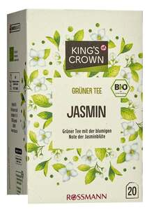 King's Crown Bio Grüner Tee Jasmin