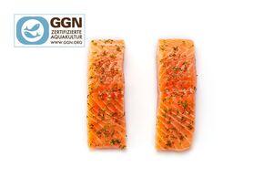 GOLDEN SEAFOOD Pfannen- und Ofen-Lachs