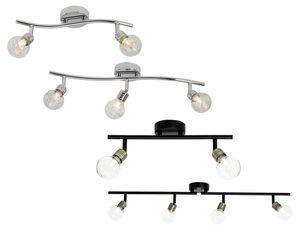 Brilliant Deckenspots »Bulb«, Köpfe schwenkbar, für LED-Leuchtmittel geeignet