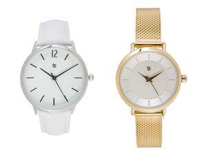 AURIOL® Armbanduhr Damen, wasserdicht, Sekundenzeiger