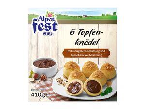 Alpenfest Style Topfenknödel