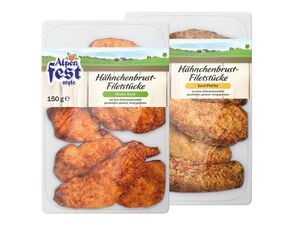 Alpenfest Style Hähnchenbrust Filetstücke