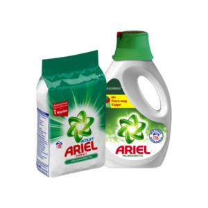 Ariel Vollwaschmittel oder Color Waschmittel