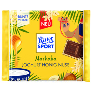 Ritter Sport Joghurt Honig Nuss 100g