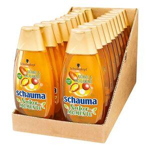 Schwarzkopf Schauma Nature Shampoo Arganöl und Macadamia 400 ml, 20er Pack