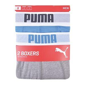 Puma Retroshorts 2er blau/grau Gr. XXL