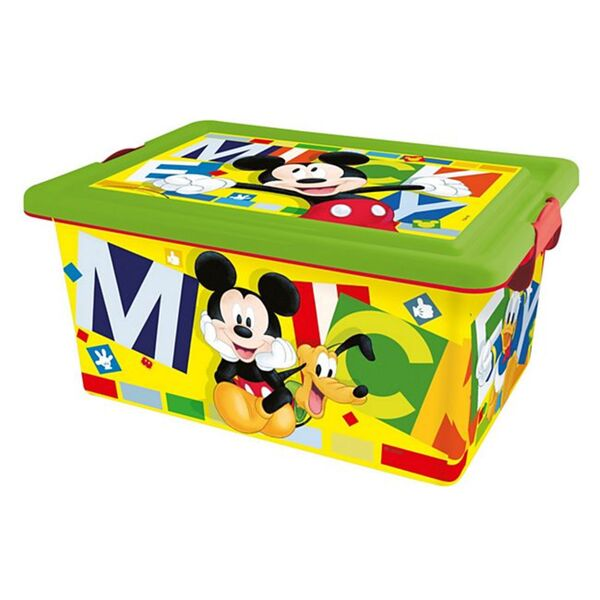 Aufbewahrungsbox 13L, Mickey Watercolor