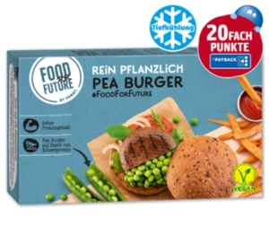 FOOD FOR FUTURE Pea Burger vegan