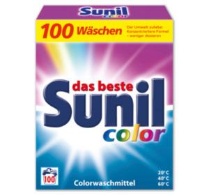 SUNIL Color- oder Vollwaschmittelpulver