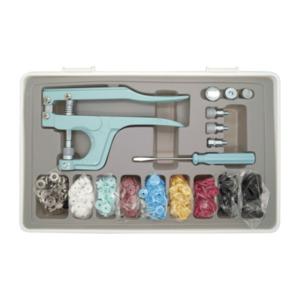 Druckknopf-Set mit Zange