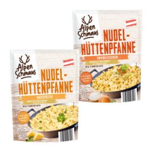ALPENSCHMAUS     Nudel-Hüttenpfanne