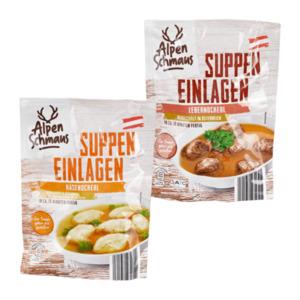 ALPENSCHMAUS     Suppeneinlagen