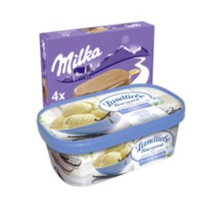 Landliebe Eiscreme oder Eiscreme Multipackungen
