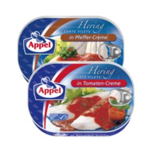 Appel Heringsfilets