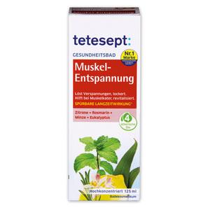 Tetesept Gesundheitsbad / Meeressalz / Muskel Wärme Balsam