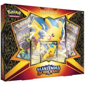 Pokémon Schwert und Schild Glänzendes Schicksal 4.5 Pickachu V Box