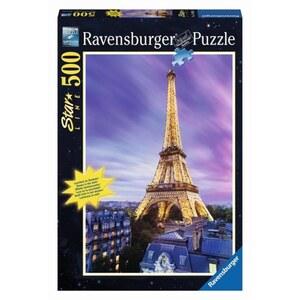 Ravensburger Starline Puzzle: Funkelnder Eiffelturm, 500 Teile