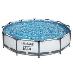 Best Way Metal Frame Pool mit Pumpe (für DE & AUT geeignet)