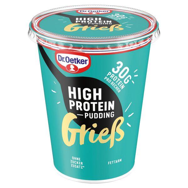 Dr. Oetker High Protein Grieß-/Pudding 400 g