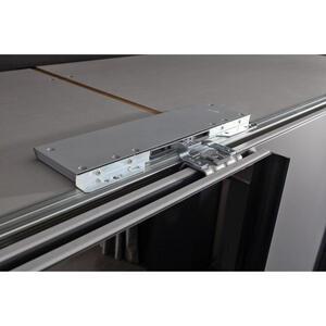 Hom`in Türdämpfer 4-teilig für mitteltüren grau , Matrix -Hom In- , Kunststoff , 001172003107