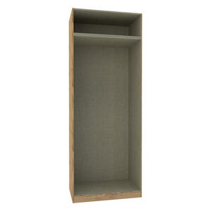 Hom`in Kleiderschrankkorpus 91,1/242,2/56,5 cm , Unit  -Hom In- , Eichefarben , 91.1x242.2x56.5 cm , Nachbildung , 002647004114