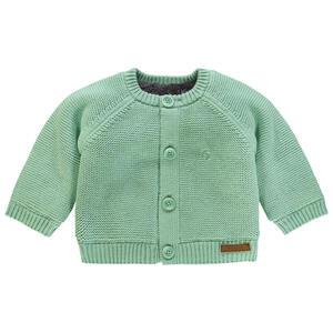 noppies Babystrickjacke , 67401 U Cardigan Knit LS Lou , Mintgrün , Textil , 005944001102