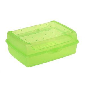 Brotdose - grün - 17 x 13 x 7 cm