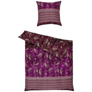 Bassetti Bettwäsche rot , 9311502 Gradara , Textil , Ornament , 135x200 cm , pflegeleicht, bügelleicht , 005639062005