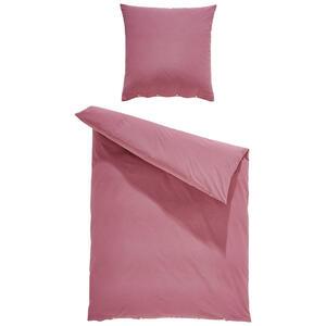 Bio:Vio Bettwäsche renforcé pink 155/220 cm , Trigaza , Textil , Uni , 155x220 cm , Renforcé , 004378004613