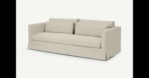 Arabelo 4-Sitzer Sofa, Natur - MADE.com