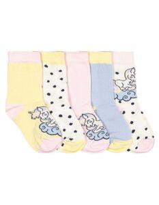 Mädchen Socken im 5er-Pack