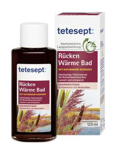 Tetesept Rücken Wärme Bad 125 ml